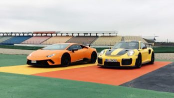 Lamborghini Huracán Performante contra Porsche 911 GT2 RS