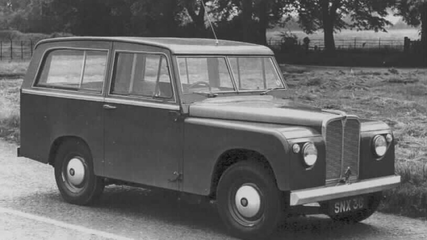 Road Rover 1960