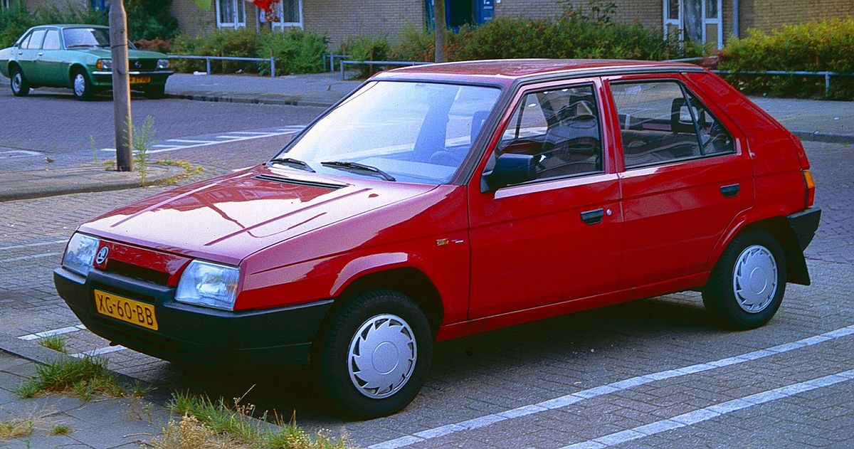 Skoda Favorit 1989