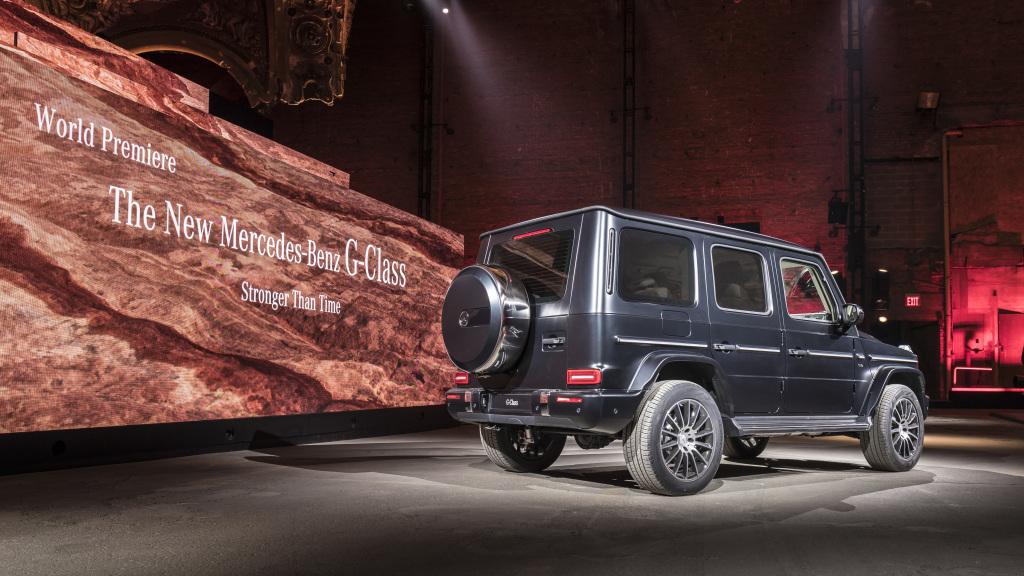 Mercedes-Benz Classe G Detroit 2018