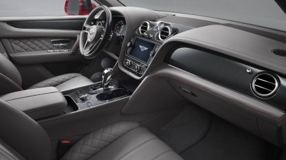 Bentley Bentayga — interior