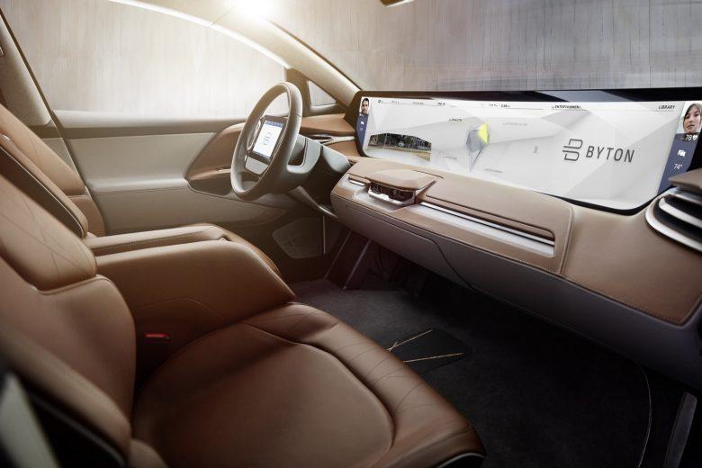 BYTON EV SUV interior
