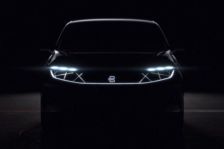 BYTON EV SUV teaser