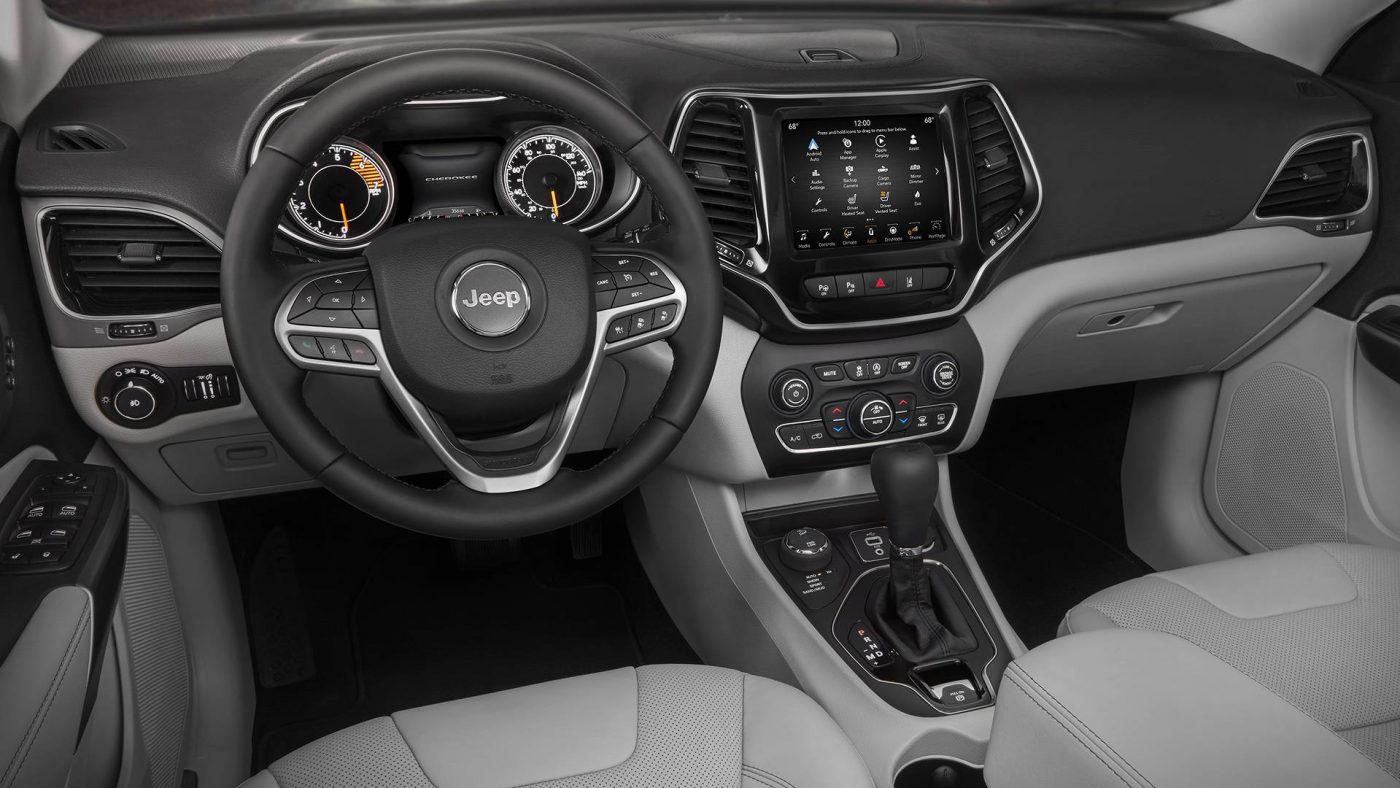 jeep cherokee — interior