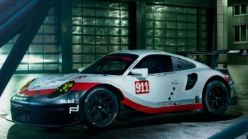 Calendário Porsche — 911 RSR