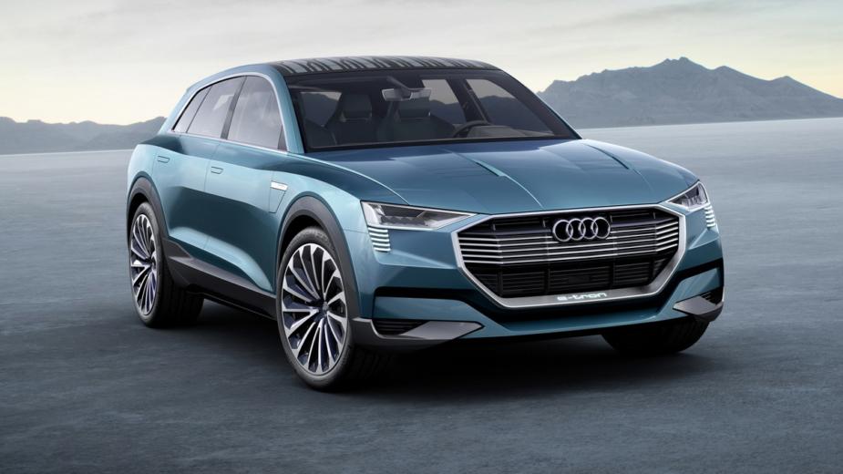 Audi e-tron quattro concept, 2015