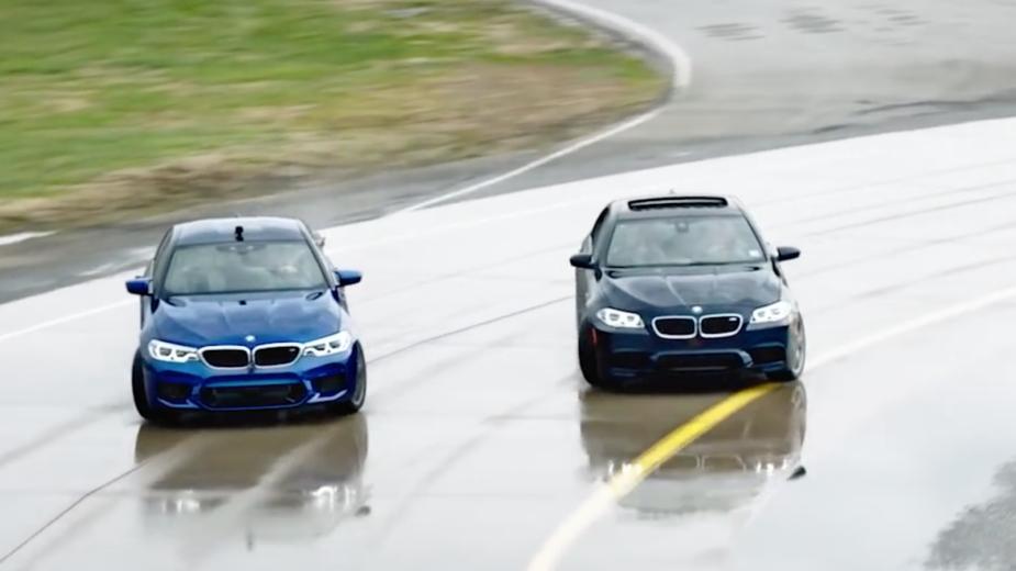 BMW M5 duplo drift