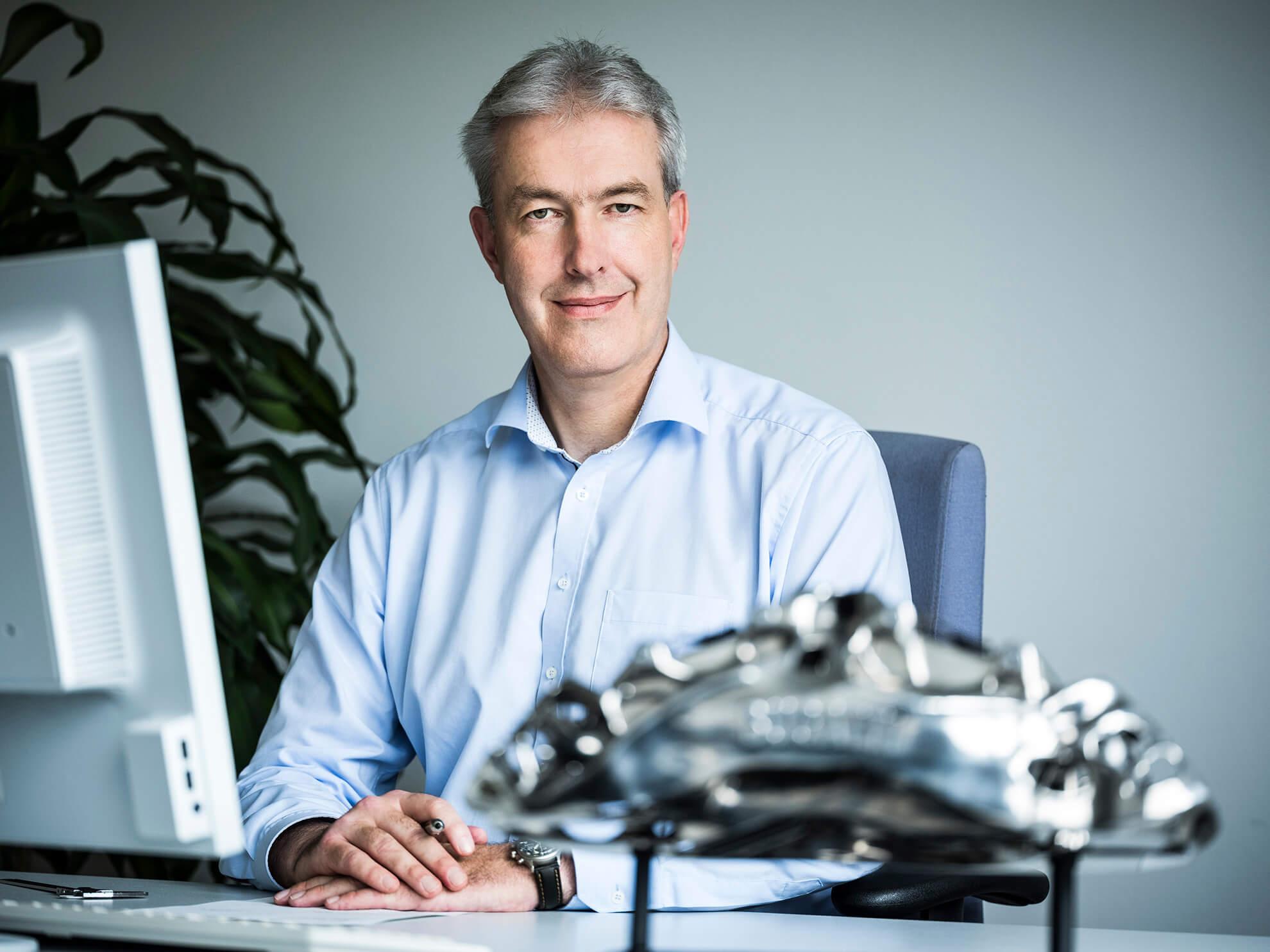 Frank Götzke, diretor de novas tecnologias, Bugatti