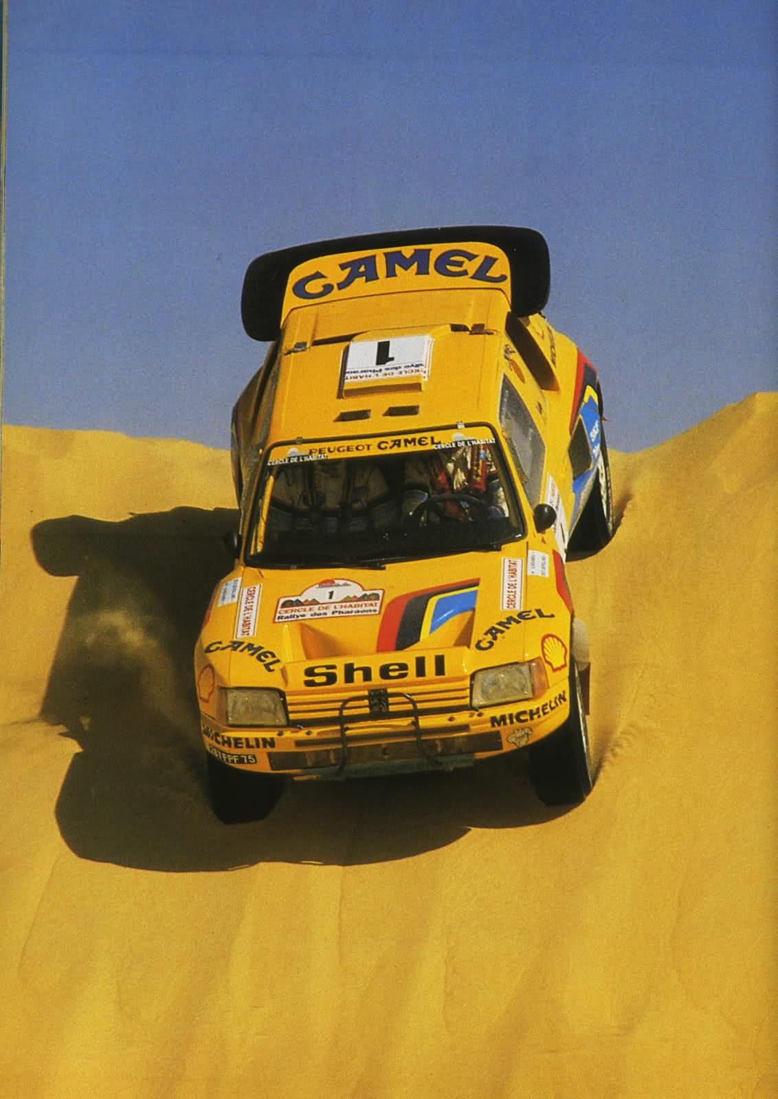 Peugeot Dakar história