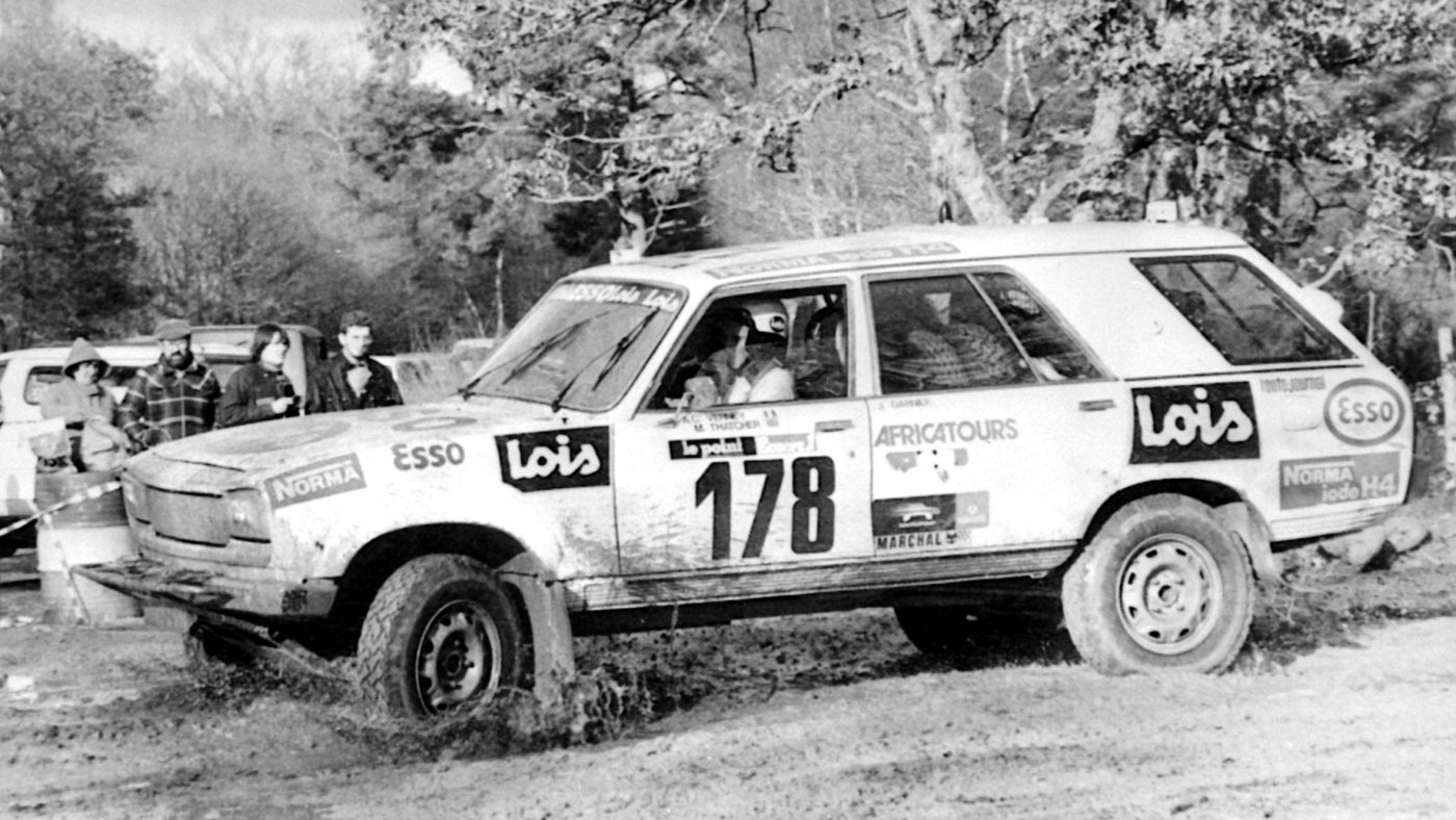 peugeot 504 dakar mark tatcher