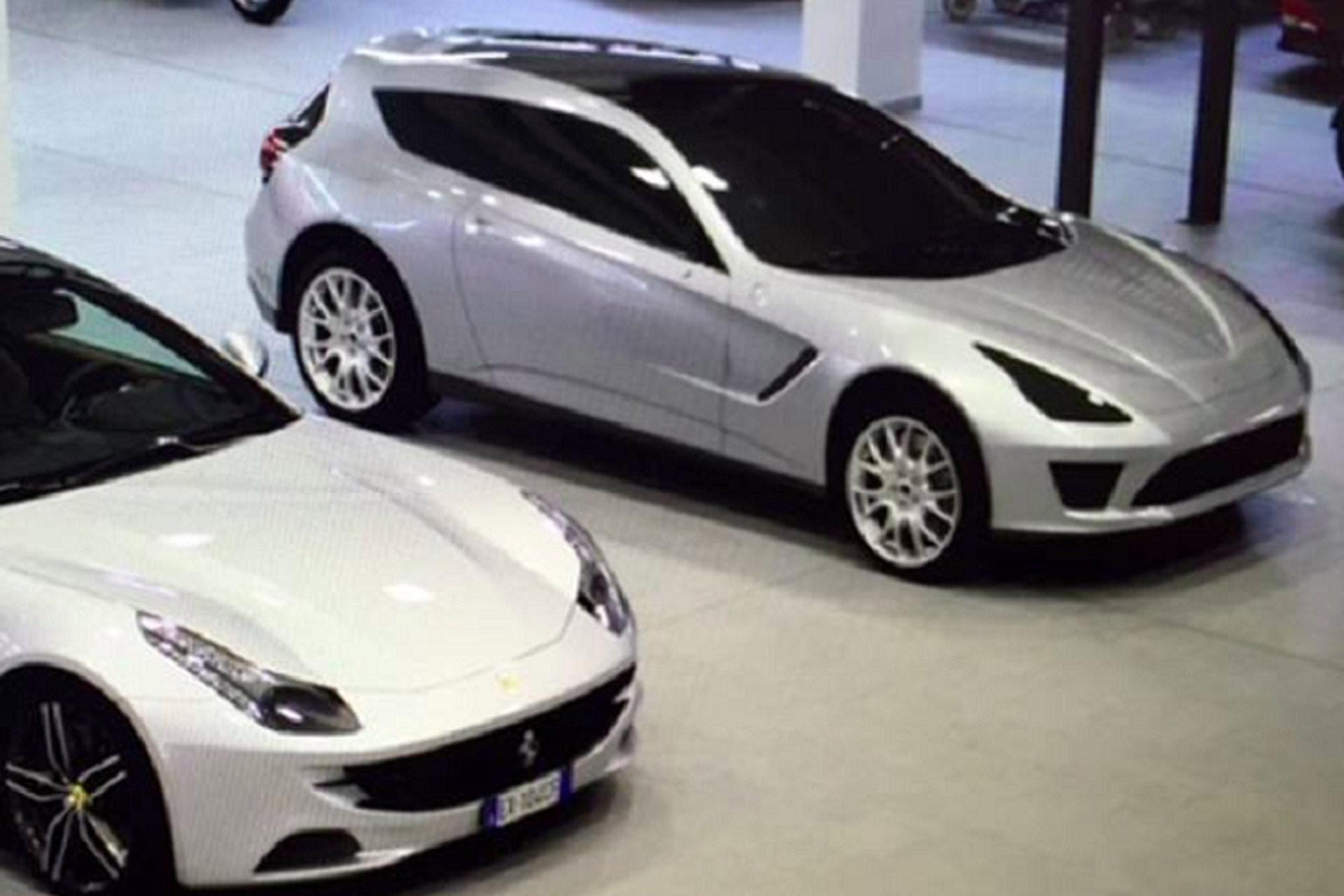 Proposta alternativa para Ferrari FF