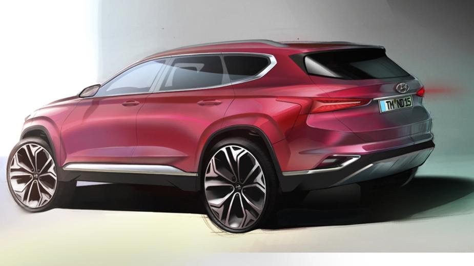 Hyundai Santa Fe teaser 2018