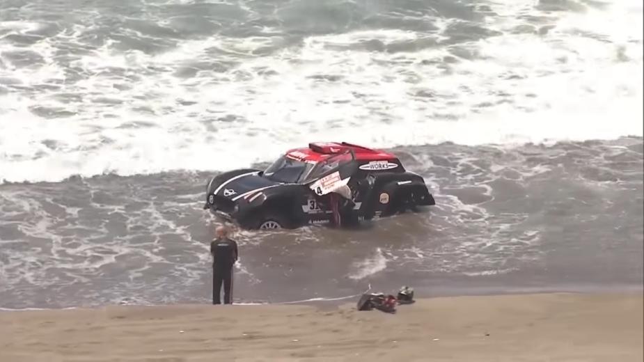 Mini X-Raid Buggy Dakar
