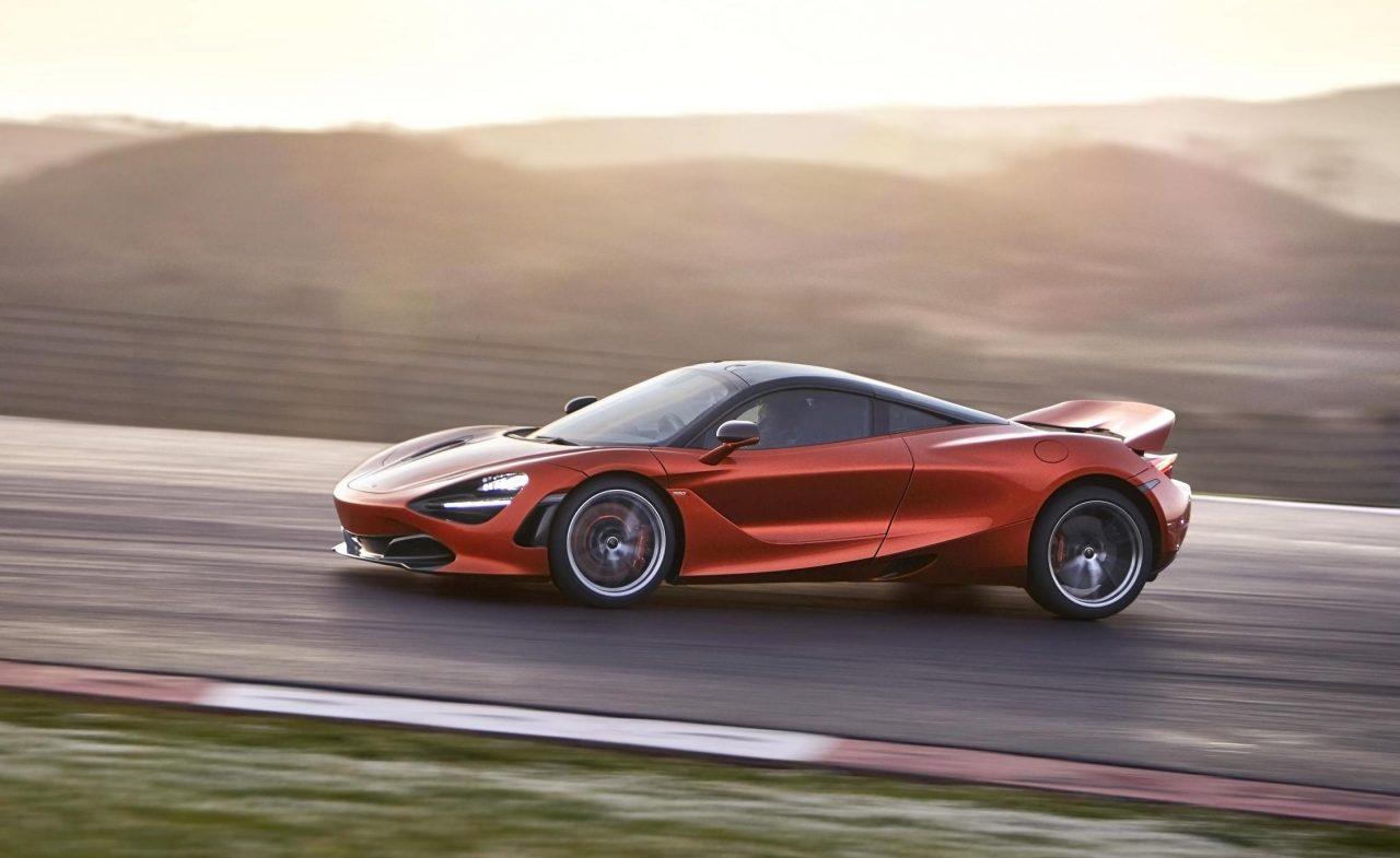 McLaren 720S drift