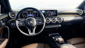 CES 2018 —Interior do Mercedes-Benz Classe A, que estreia o MBUX