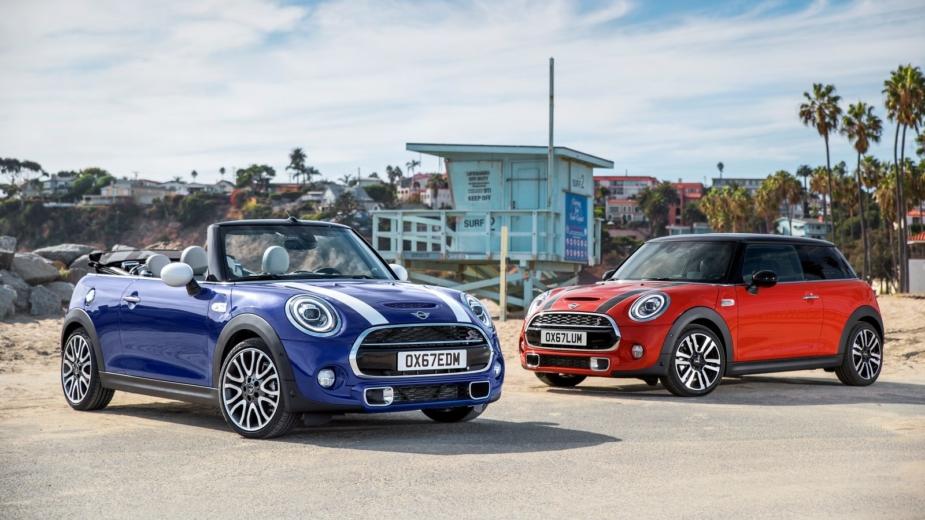 Mini Cabrio e Mini 3 portas — LCI