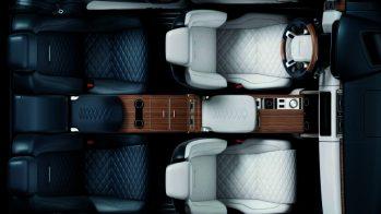 Range Rover SV Coupé interior 2018