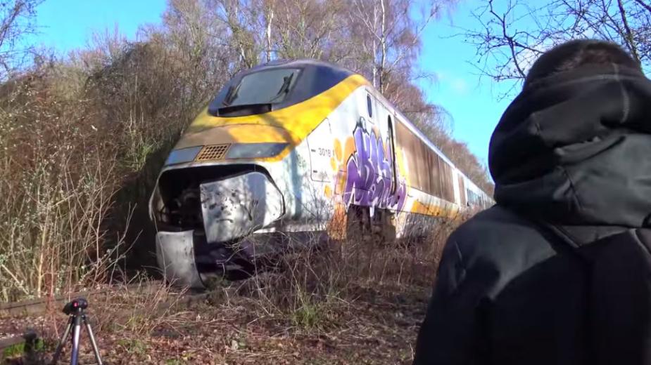TGV Canal da Mancha Abandonado 2018