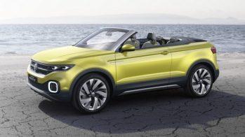 Volkswagen T-Cross Breeze concept, 2016