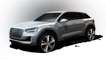 Audi Q2 render