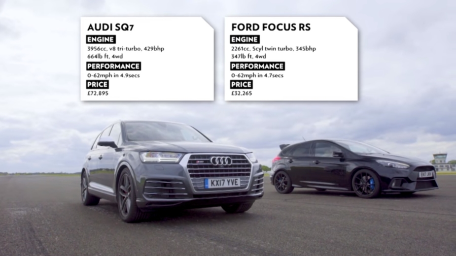 ford focus rs audi sq7