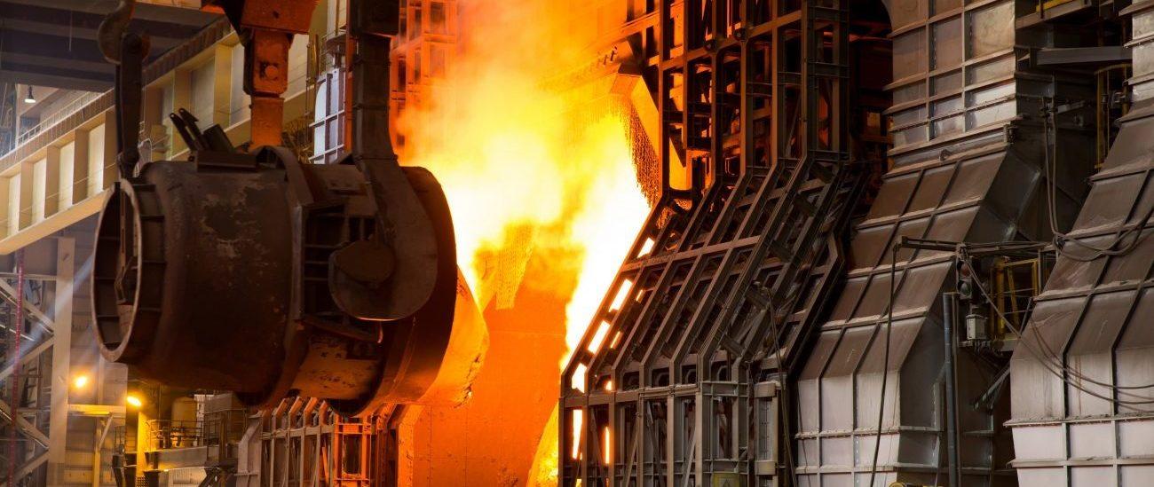 Uma fornalha à dimensão da restante fábrica.