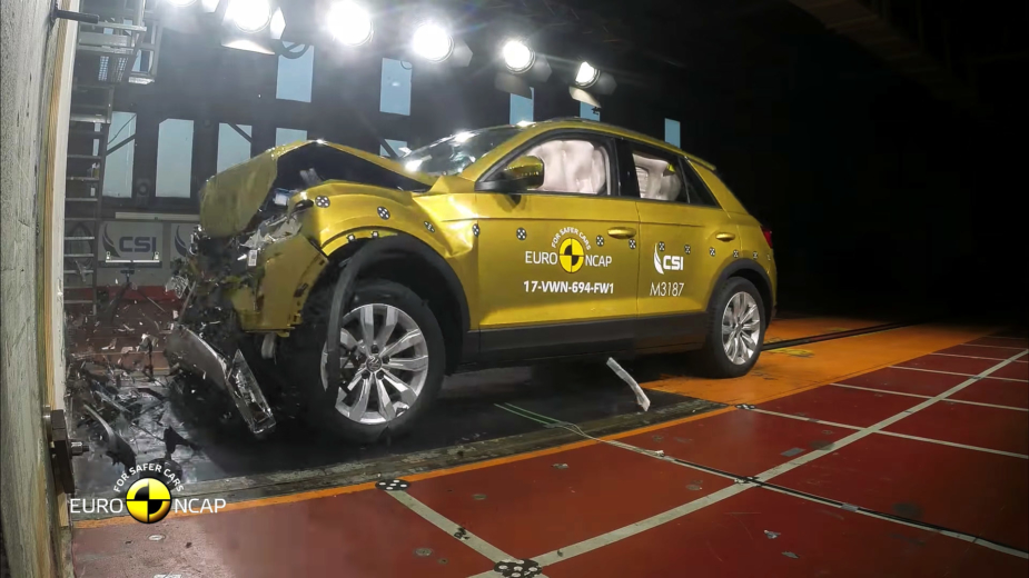 Volkswagen T-Roc Euro NCAP