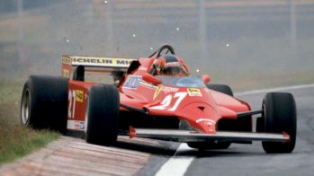 Arranque a frio — Gilles Villeneuve