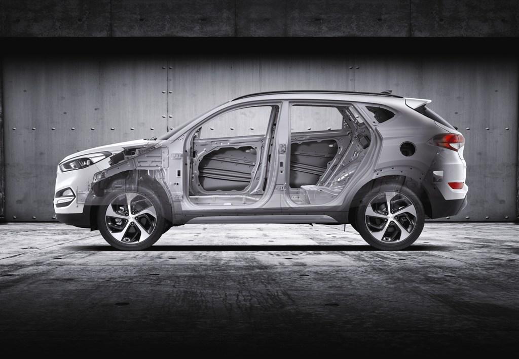Raio-X ao Hyundai Tucson