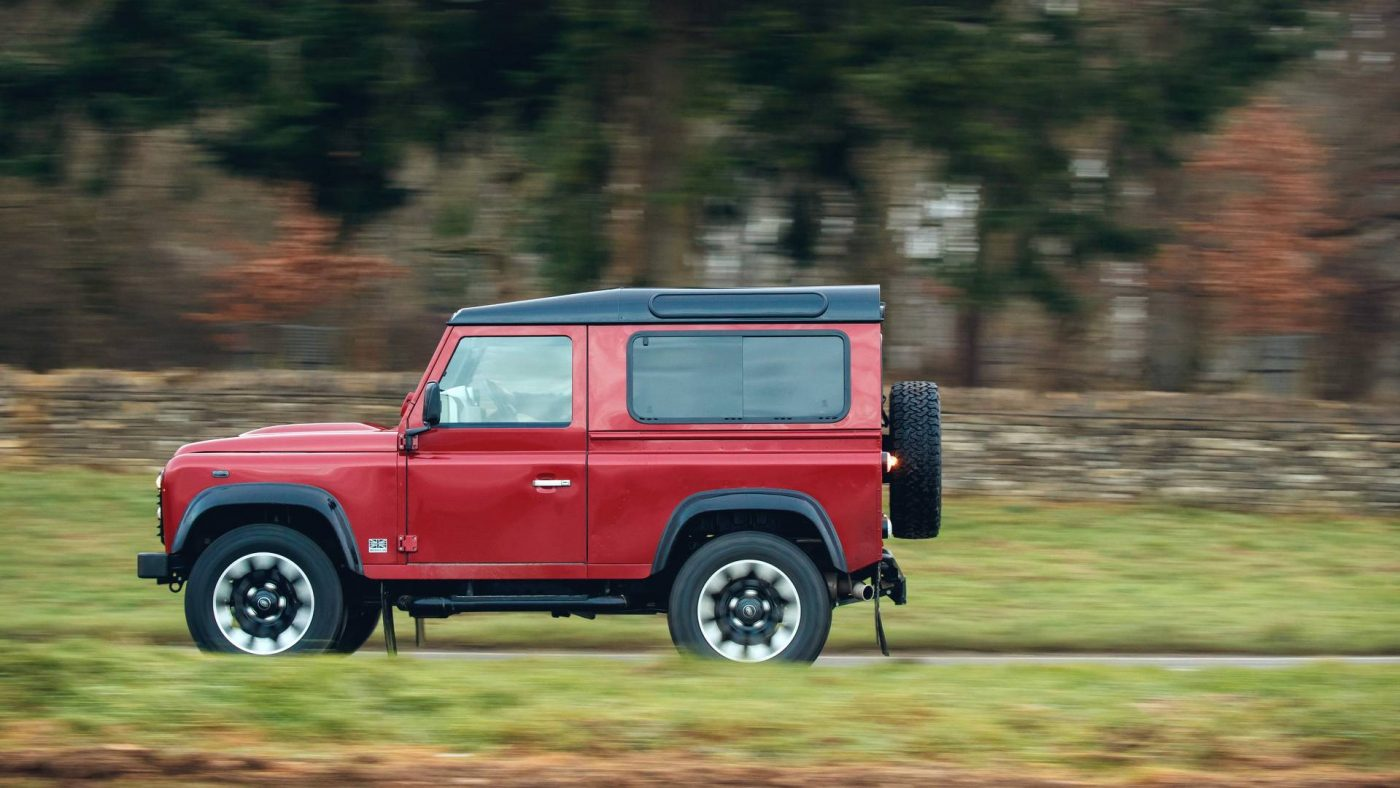land rover defender works