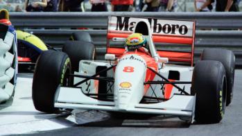 McLaren MP4/8A, Ayrton Senna, Monaco