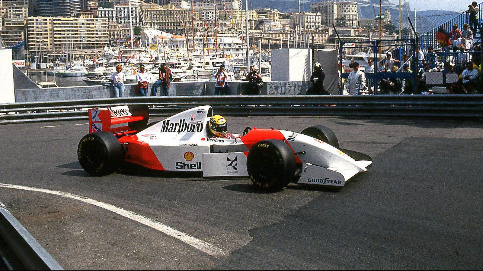 McLaren MP4/8A, Ayrton Senna no GP Mónaco de 1993