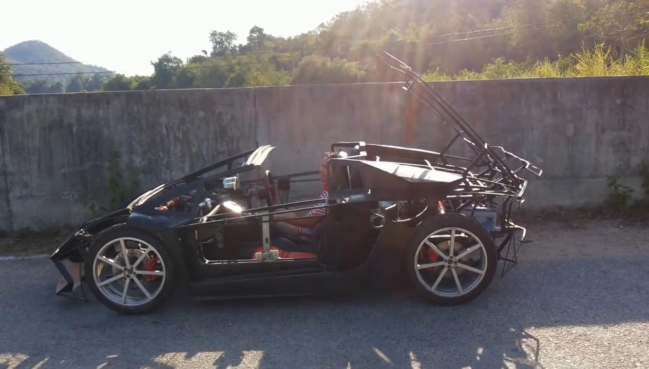 Lamborghini Aventador Roadster —mini-réplica