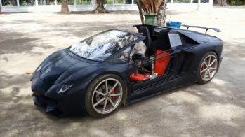 Lamborghini Aventador — mini-réplica