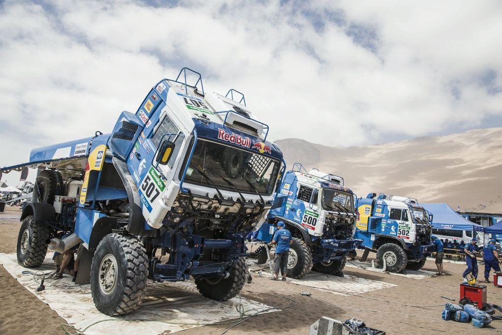 camiões do dakar — T4
