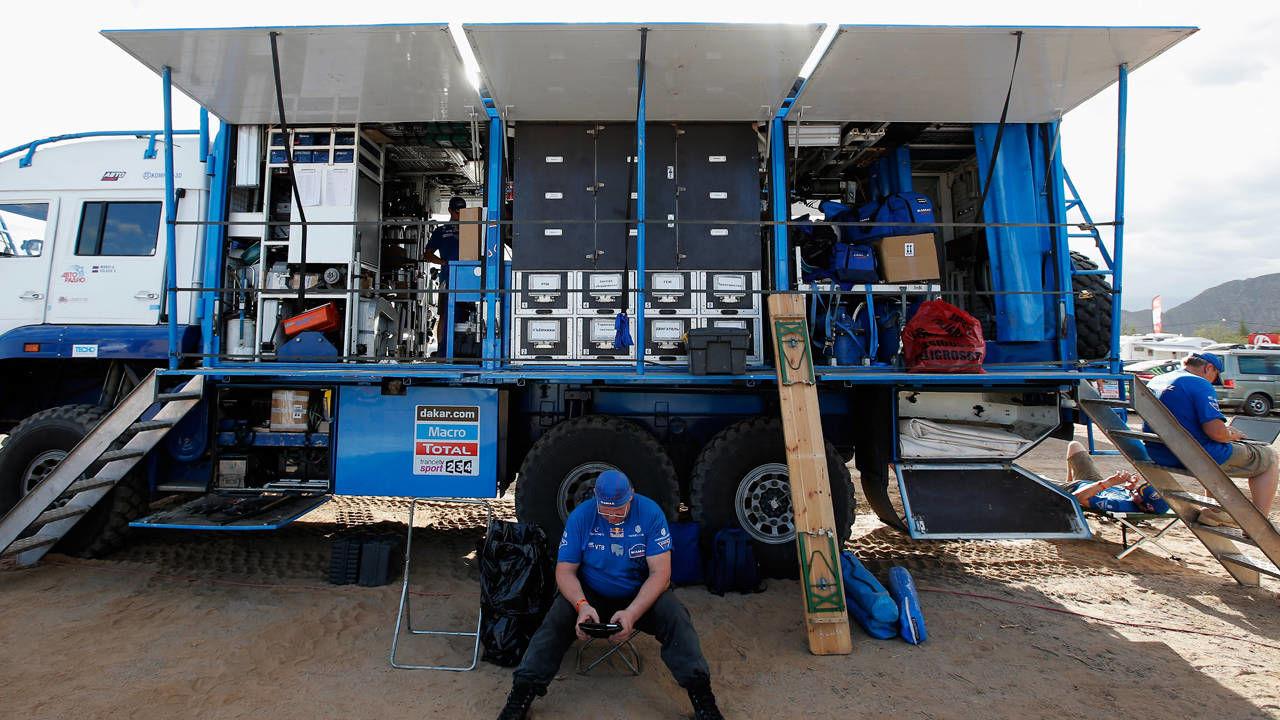 camiões do dakar t4 camião