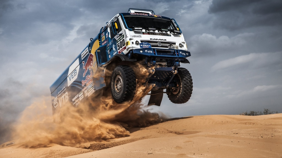 Camiões do Dakar — Kamaz