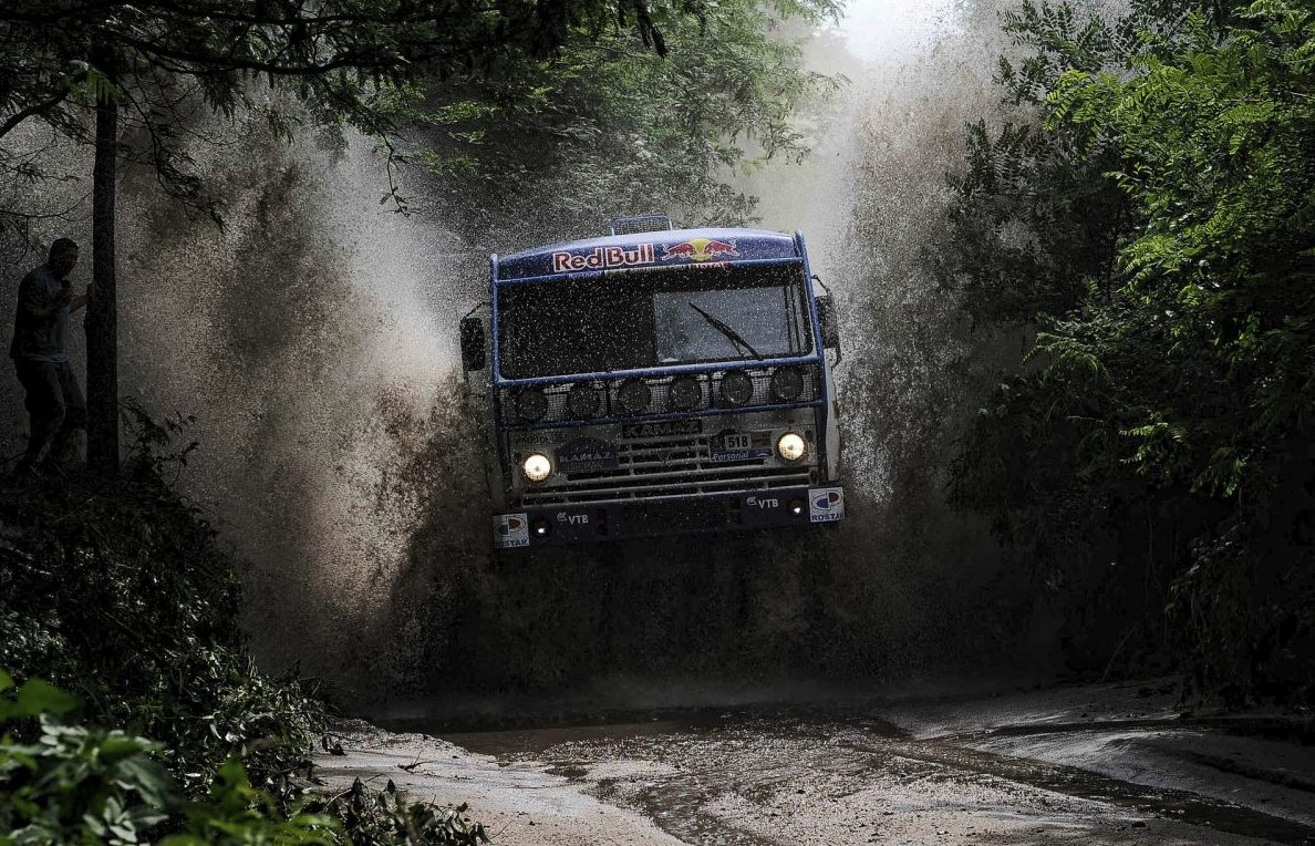 Camião Dakar T4 —Kamaz