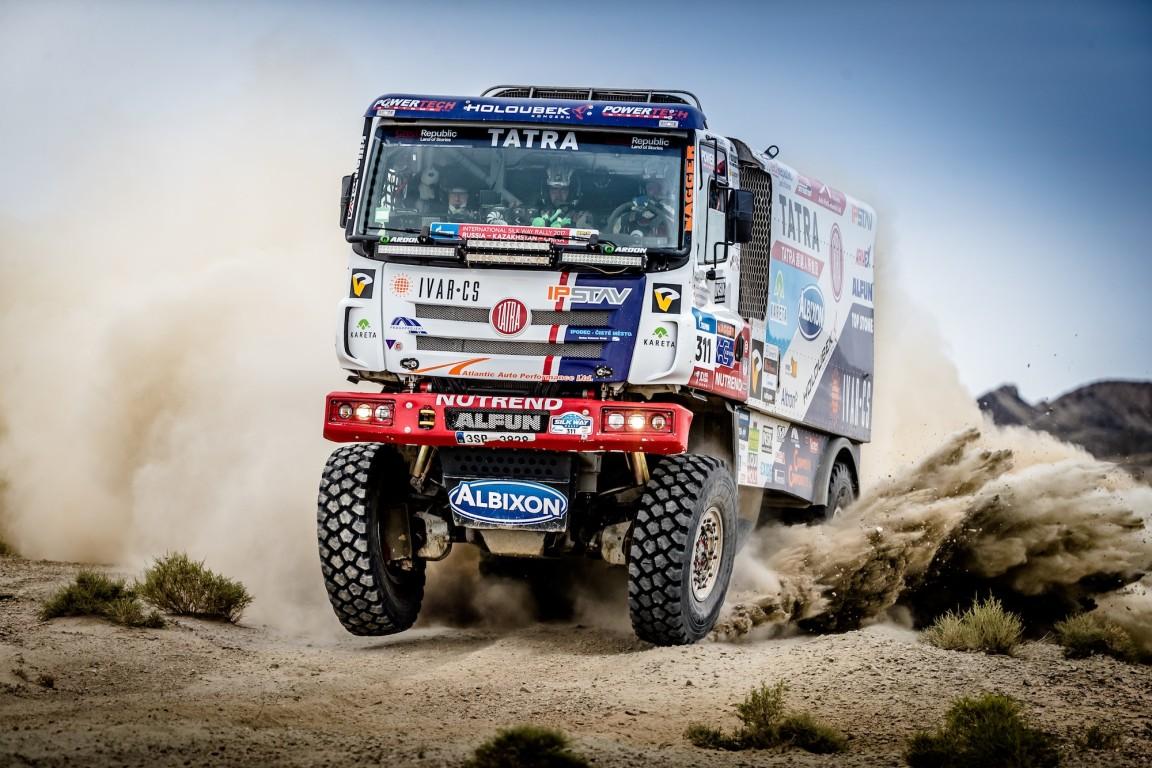 camiões do dakar T4 — Tatra