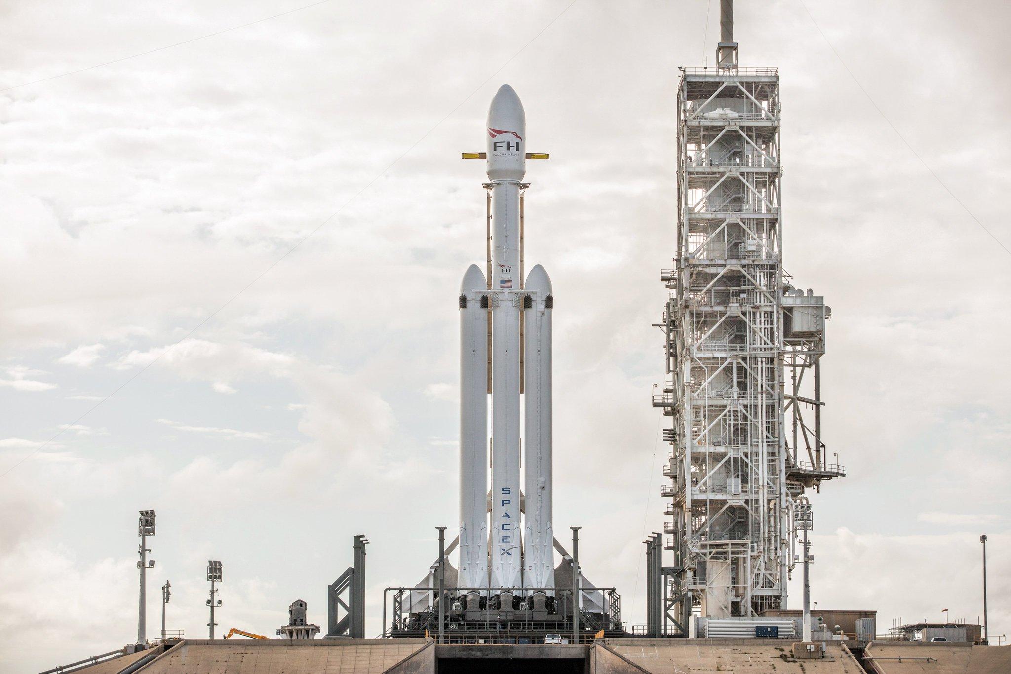 Acompanhe ao vivo a transmissão do lançamento do Falcon 9 da SpaceX