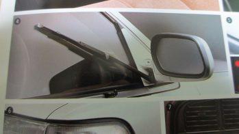 Toyota Mark II, 1988, escova limpa-janela