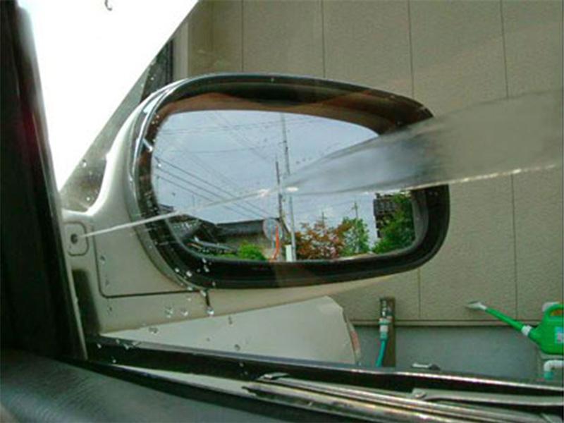 Toyota Mark II, esguicho para janela