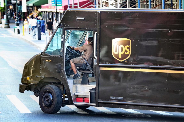 Camião UPS