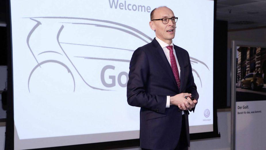 Volkswagen Golf 8 teaser — Ralf Brandstätter, Membro do Conselho de Aquisições