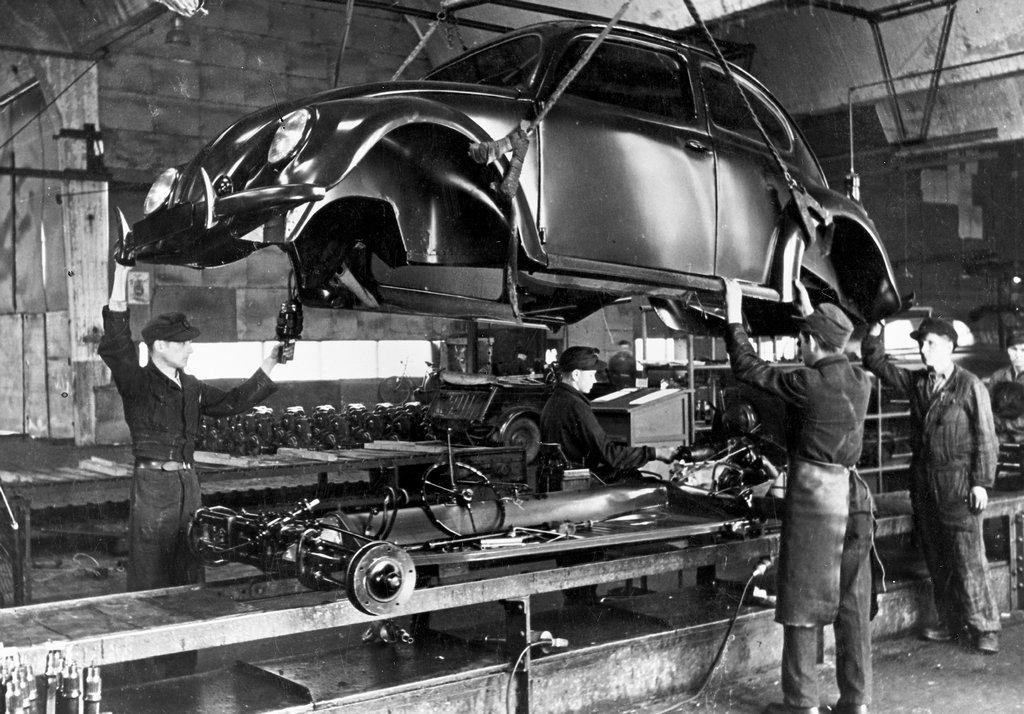 Volkswagen Type 1, Carocha, Beetle