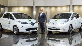 Carlos Ghosn, Renault ZOE e Nissan LEAF
