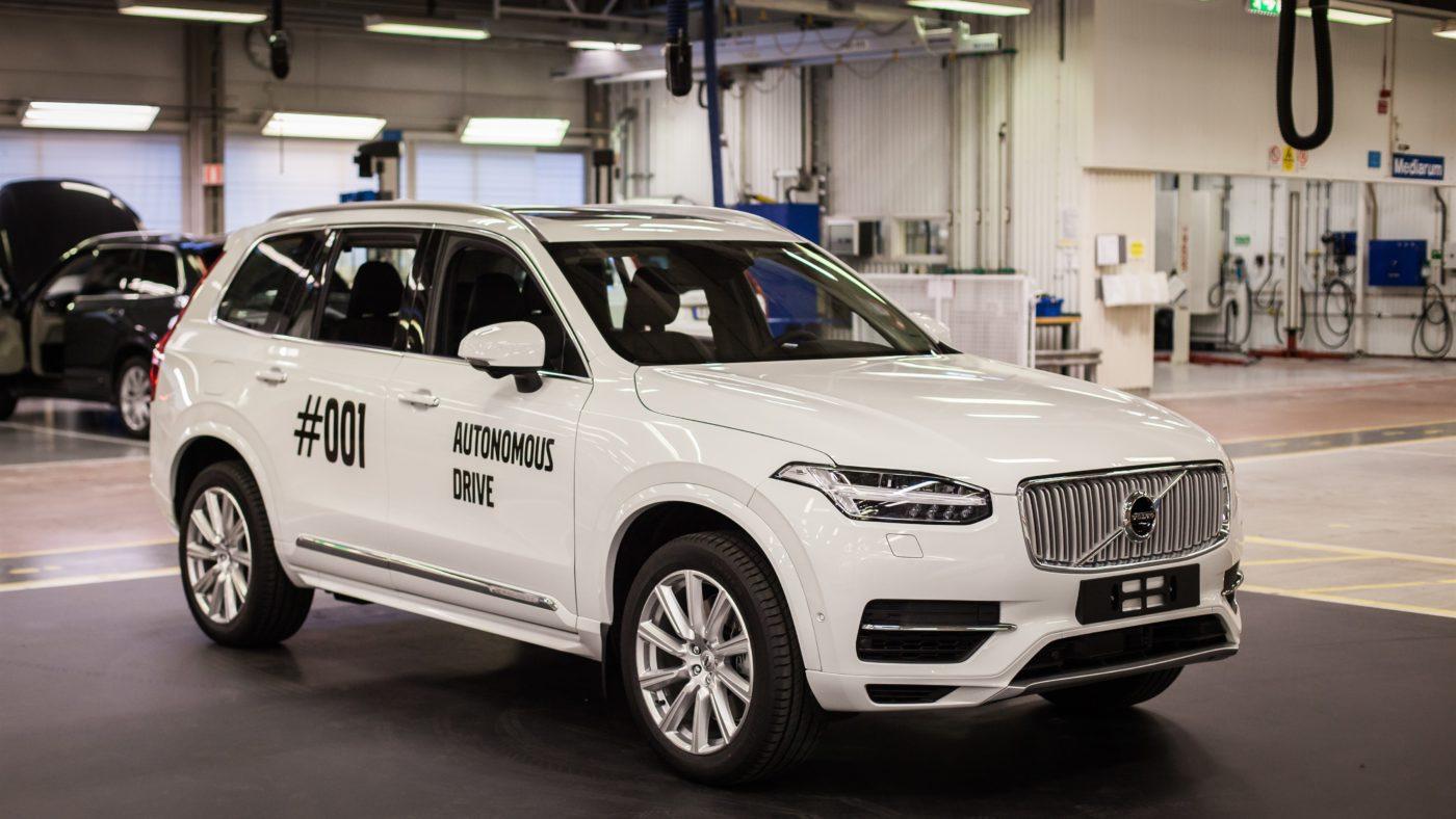 Volvo XC90, condução autónoma