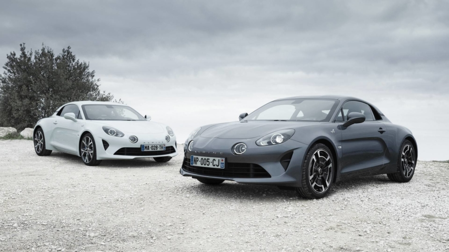 Alpine A110 pure e legende 2018