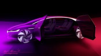 Volkswagen ID Vizzion Concept Teaser