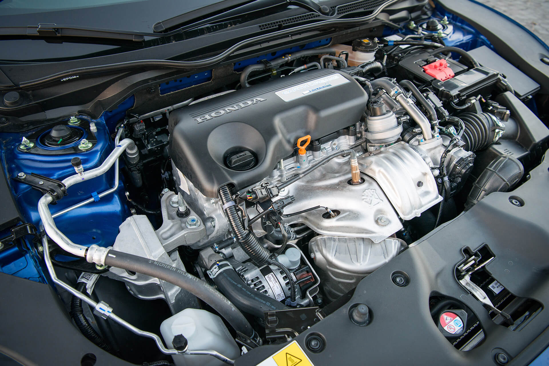 Honda Civic 1.6 i-DTEC — motor